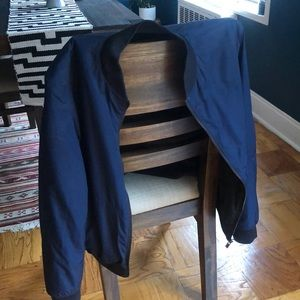 Reversible Hugo boss bomber jacket